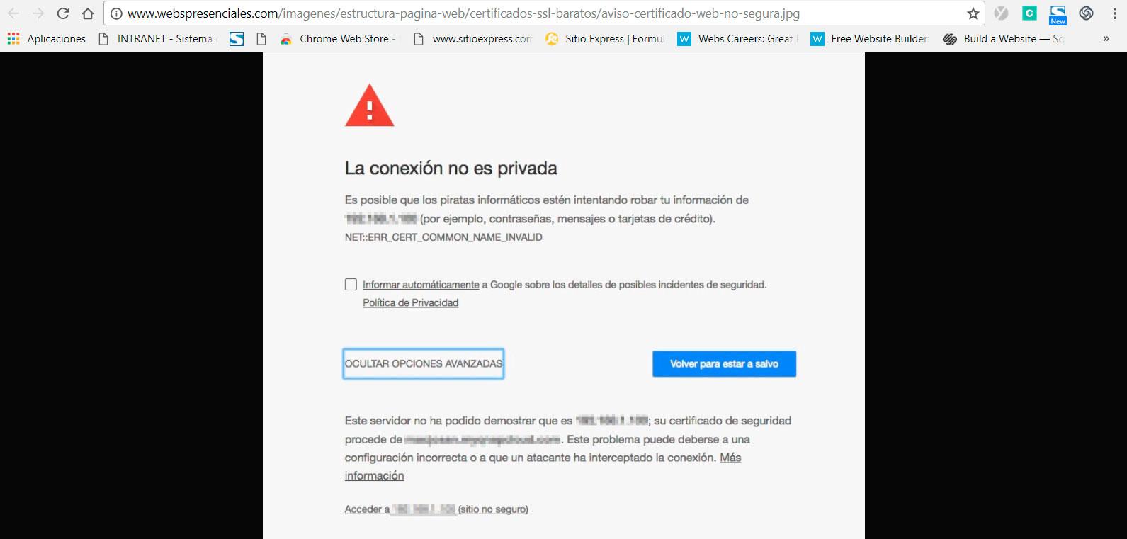 Qué es un Certificado SSL – Sitio Express